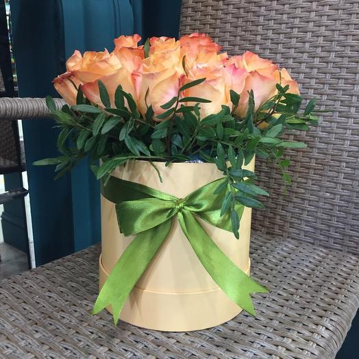 Цветы в коробке «Сафари»