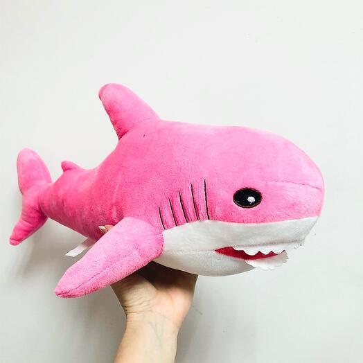 Акула pink 50см