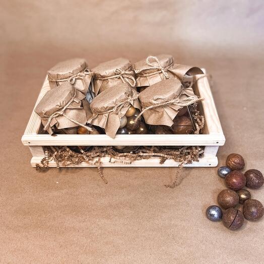 Подарочный набор с орехами