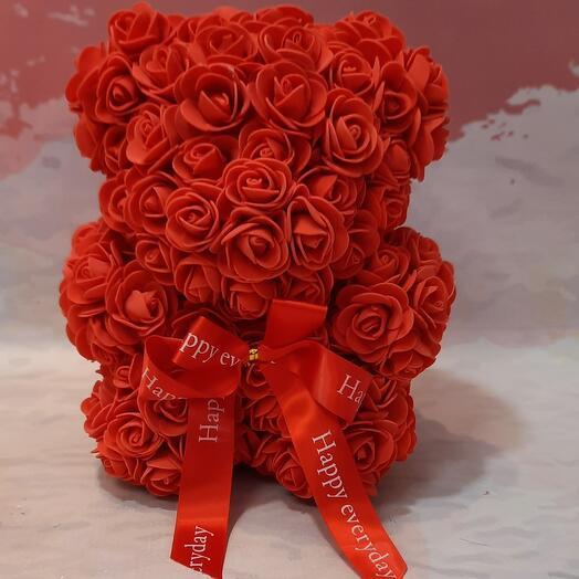Bear of roses
