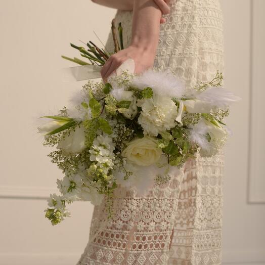 Букет невесты «Полет»