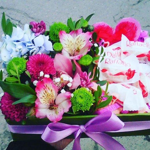 Няшка: букеты цветов на заказ Flowwow