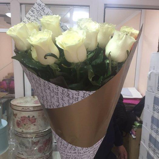 Букет метровая 11 голландская роза