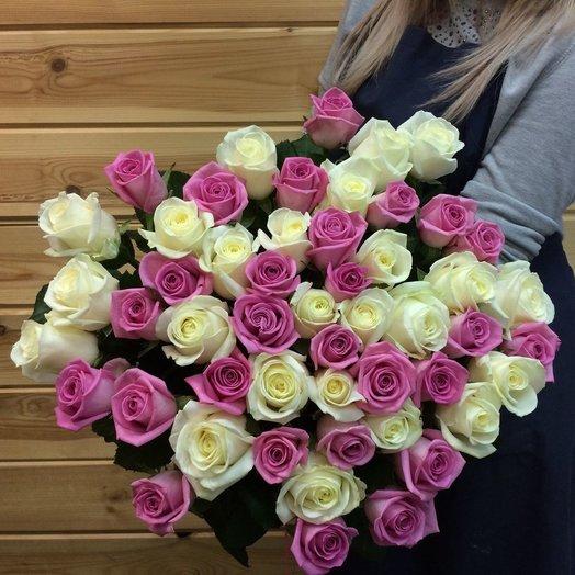 Pink and White: букеты цветов на заказ Flowwow