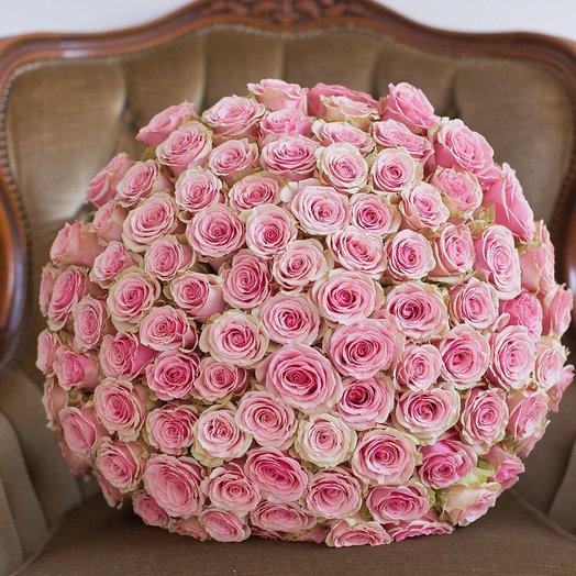 Букет из 101 розы «Geraldine»