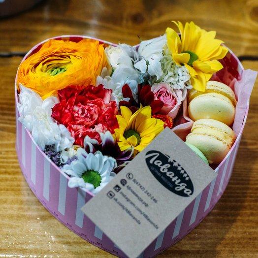 НОТКА ЛЮБВИ: букеты цветов на заказ Flowwow