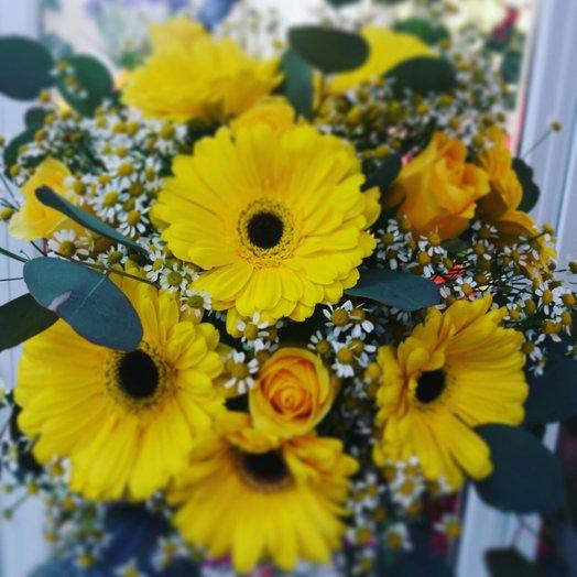 The sun: flowers to order Flowwow