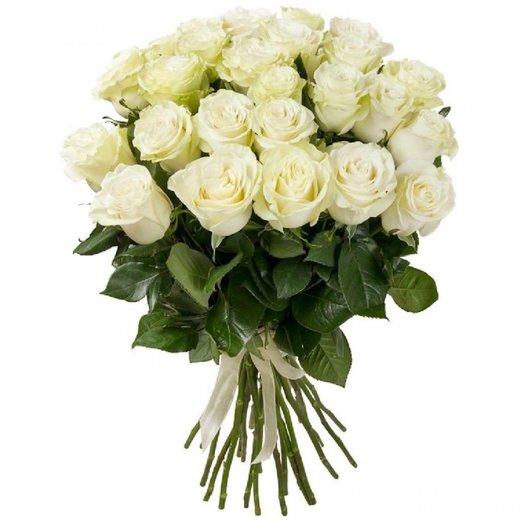 Букет 25 роз 70см: букеты цветов на заказ Flowwow