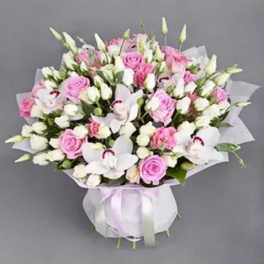 Самой нежной девочке: букеты цветов на заказ Flowwow