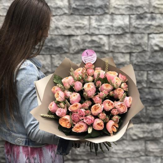 Абсолютно пионовидный: букеты цветов на заказ Flowwow