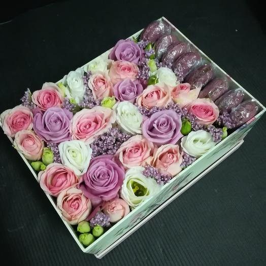 Сладкие радости: букеты цветов на заказ Flowwow