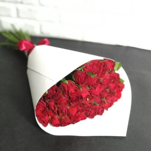 """""""Madam Red 1"""": букеты цветов на заказ Flowwow"""