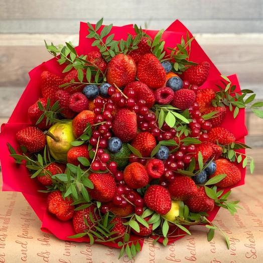 Фруктовый букет «наслаждение»: букеты цветов на заказ Flowwow