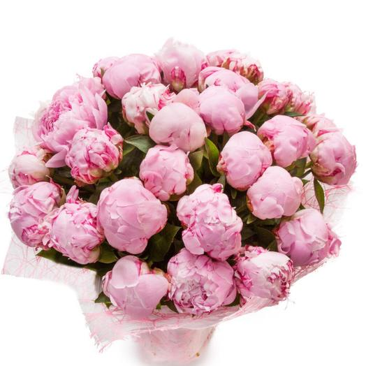 Сладкий пион: букеты цветов на заказ Flowwow