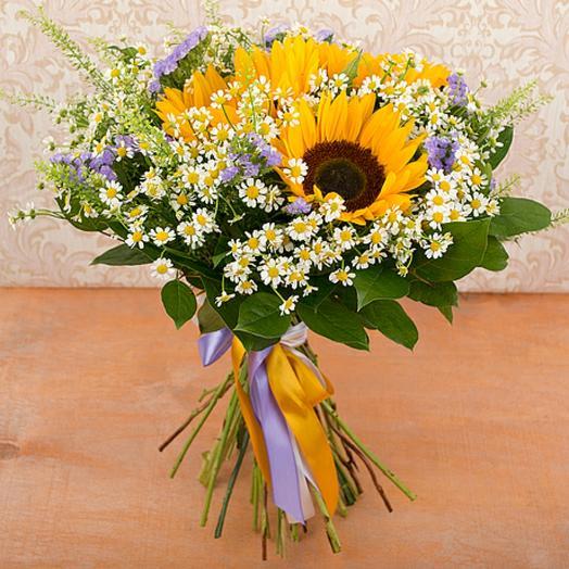 """Букет """"Летний поцелуй"""": букеты цветов на заказ Flowwow"""