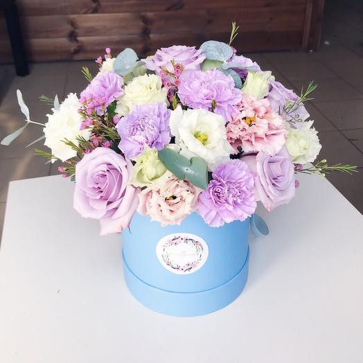 Цилиндр Лавандовый: букеты цветов на заказ Flowwow
