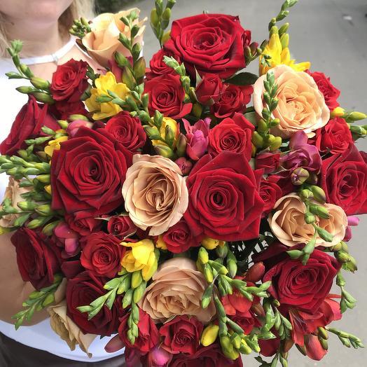 Смелость: букеты цветов на заказ Flowwow