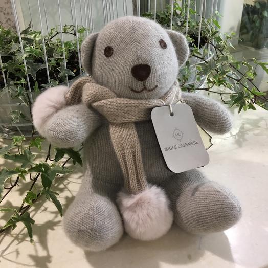 Мишка Migle Cashmere: букеты цветов на заказ Flowwow