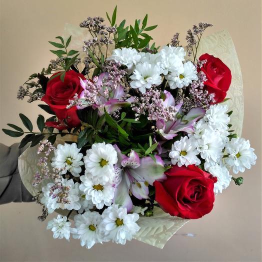"""Букет """"Первый снег"""": букеты цветов на заказ Flowwow"""