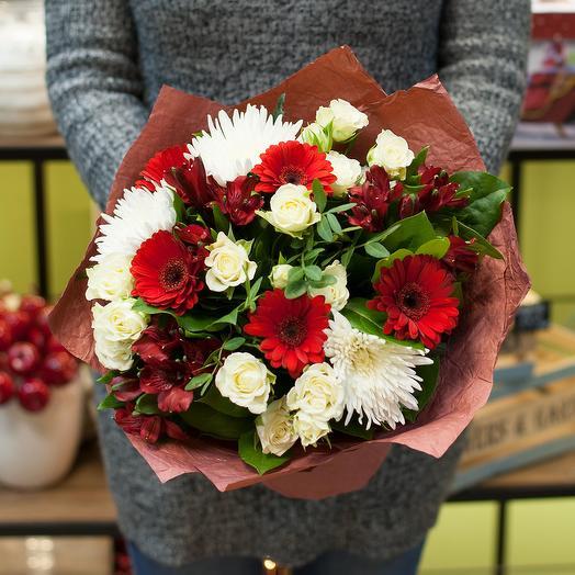 """Букет цветов """"Красочное настроение"""""""