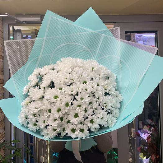 Огромный букет ромашек: букеты цветов на заказ Flowwow