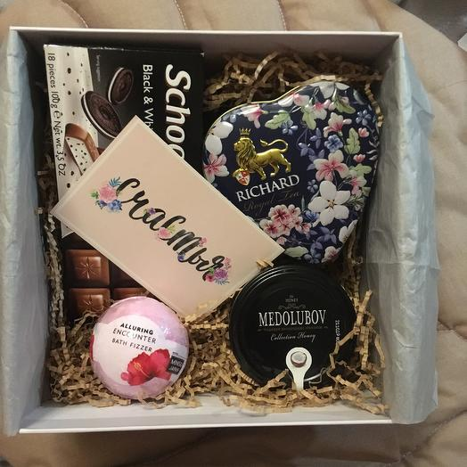 Box 4: букеты цветов на заказ Flowwow
