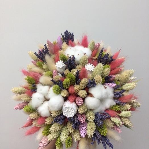 Букет из сухоцветов 4: букеты цветов на заказ Flowwow