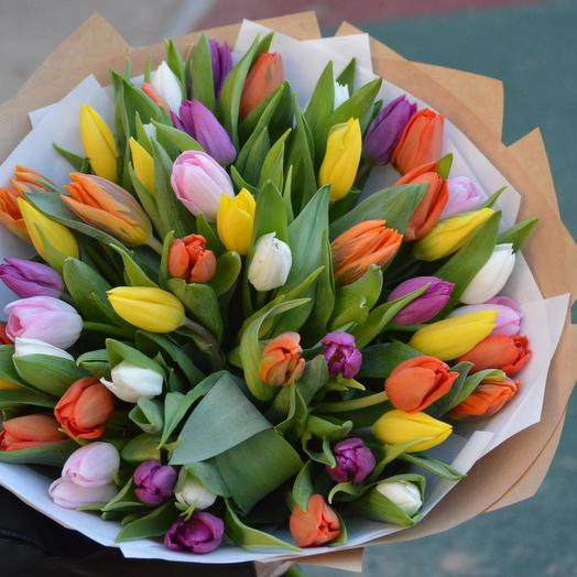 "Букет ""Праздник весны"": букеты цветов на заказ Flowwow"