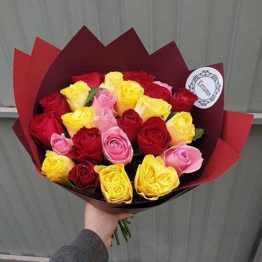 25 микс: букеты цветов на заказ Flowwow