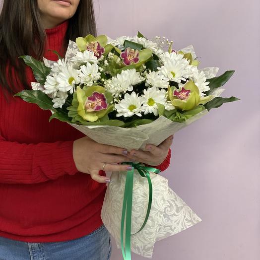 Зелёный шум: букеты цветов на заказ Flowwow