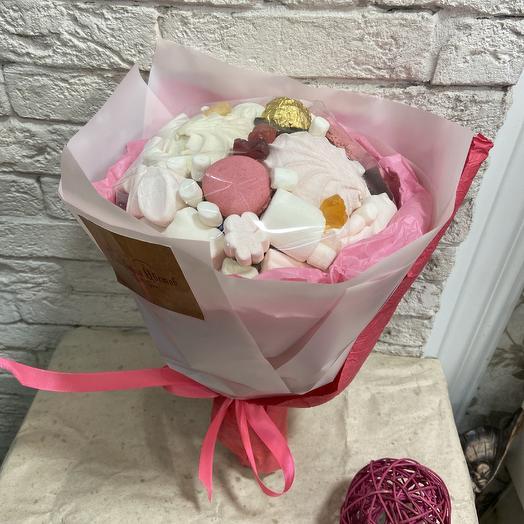 Букет для сладкоежки: букеты цветов на заказ Flowwow