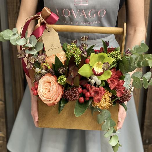 Несгораемая страсть: букеты цветов на заказ Flowwow