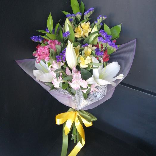 "Букет комплимент ""Незнакомка"": букеты цветов на заказ Flowwow"