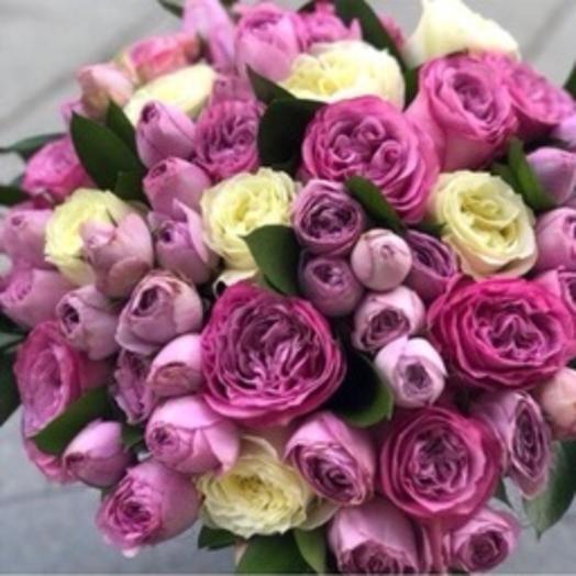 Розы 25: букеты цветов на заказ Flowwow