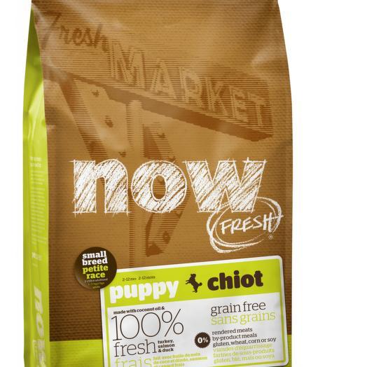 NOW FRESH беззерновой сухой корм для щенков мелких пород с индейкой, уткой и овощами 2,72 кг