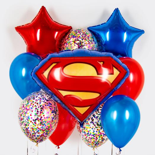 "Набор шаров ""Супермен"""