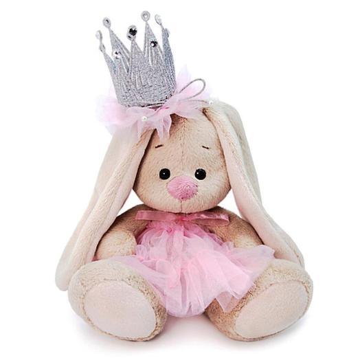 Коллекционная мягкая игрушка «Зайка Ми с короной»