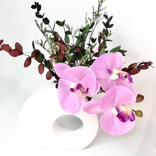 Орхидеи в кашпо