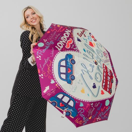 Складной женский зонт 013-044