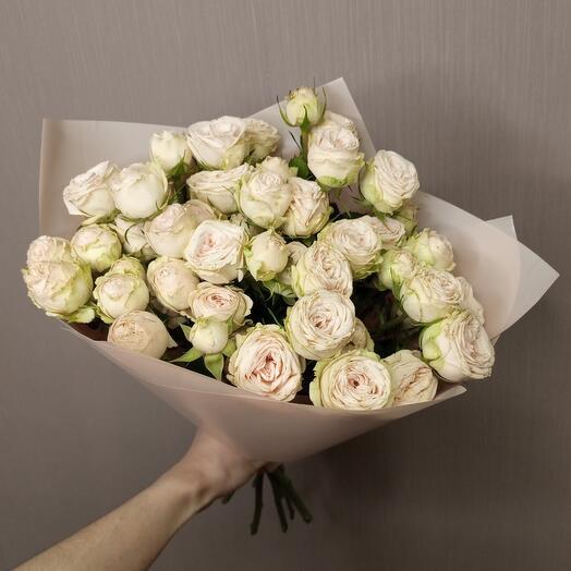 Роза кустовая Вайт