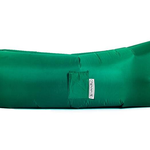 Надувной диван БИВАН Классический (BVN18-CLS-GRN), цвет зеленый (Зеленый)