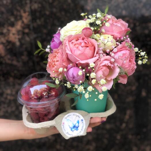 Flower and berry mood
