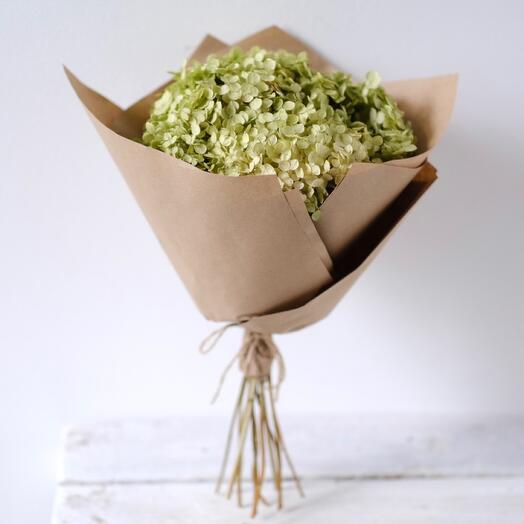 Букет из сухоцветов Гортензия