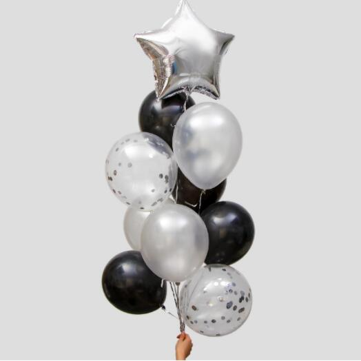 Набор воздушных шаров с конфетти, набор 10 шт