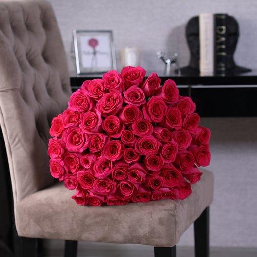 Букет из 51 розы Pink Floyd