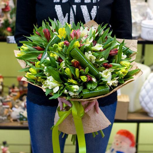 """Букет цветов """"Альстромерия"""": букеты цветов на заказ Flowwow"""