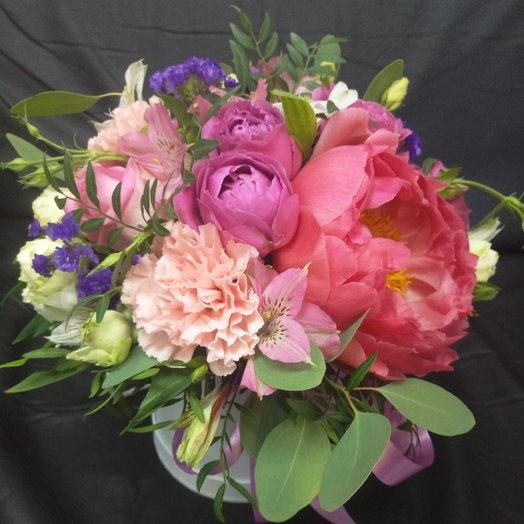 Французская страсть: букеты цветов на заказ Flowwow