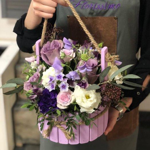 "Цветочная композиция ""Клио"": букеты цветов на заказ Flowwow"