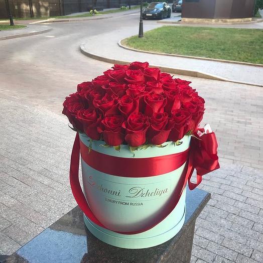 Большая коробка: букеты цветов на заказ Flowwow