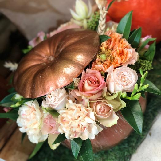 Мини тыква ): букеты цветов на заказ Flowwow